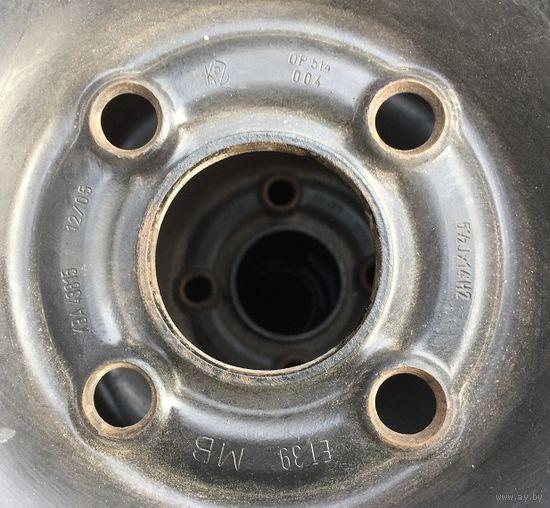 Оригинальные диски с резиной от Opel Astra 185/65/r14