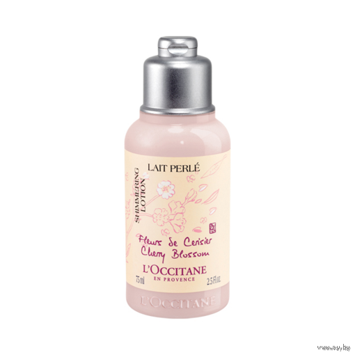 Увлажняющий ЛОСЬОН/МОЛОЧКО для тела L'OCCITANE Cherry Blossom Shimmering Lotion с частицами перламутра