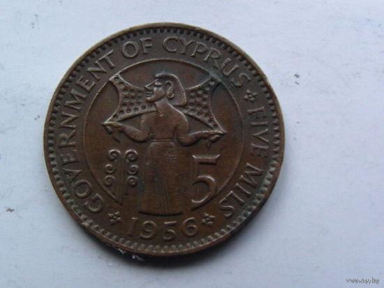 Кипр 5 центов 1956г распродажа