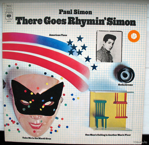 "Paul Simon ""There Goes Rhymin' Simon"" LP, 1973"