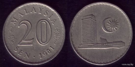 20 сен 1981 год Малайзия