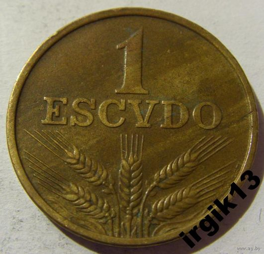 1 эскудо 1971 год Португалия
