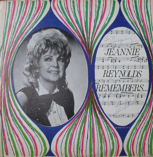 LP Jeannie Reynolds - Remembers...