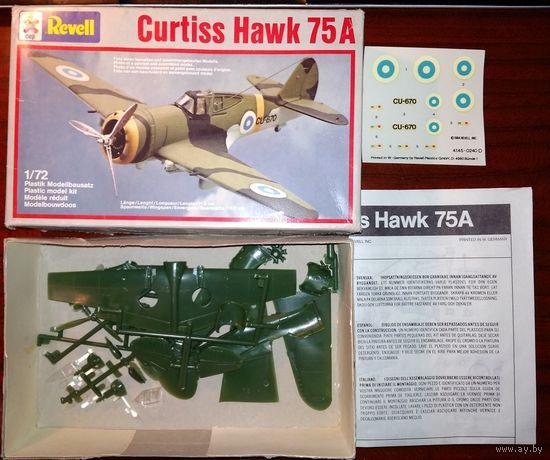 1/72 Revell Curtiss Hawk 75A