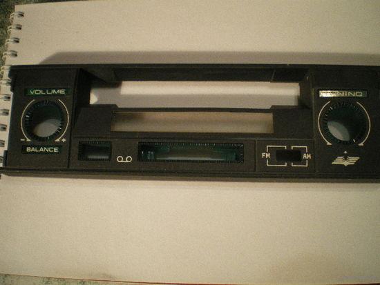 """Передняя панель, новая, к автомагнитоле """"GRODNO-RM 5A""""."""