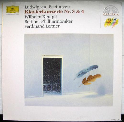 Beethoven. Klavierkonzerte Nr. 3 & 4. Wilhelm Kempff / Ferdinand Leitner