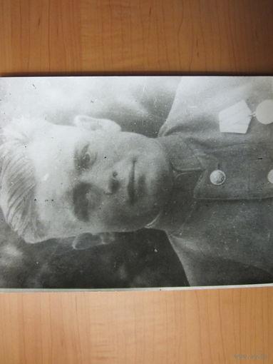 Большое фото партизанского командира