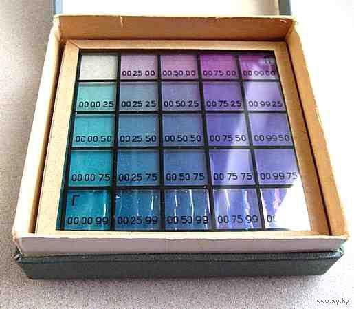 Мозаичные светофильтры для цветной печати