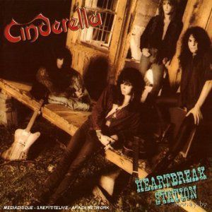 "CINDERELLA ""Heartbreak Station"" Audio CD, 1990"