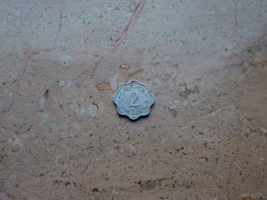 2 цента Мальта 1972*
