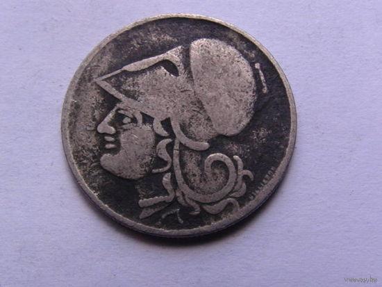 Греция 2 драхмы 1926г.  распродажа