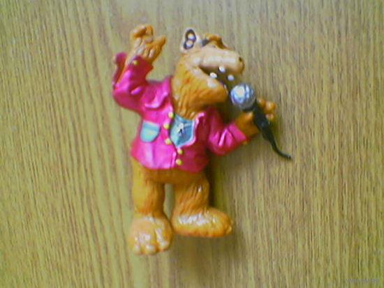 Певец музыкант Альф Супер Стар (джазмен jazzman Alf Super Star No3. Alien Productions). BULLY (Bullyland). 1988г. Made in West Germany, Europe. (возможен обмен)