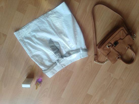 Юбка фирмы Zara р.42 белая крутая