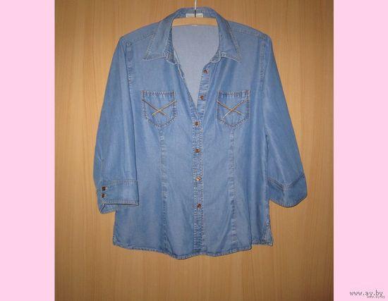 Рубашка джинсовая Franco Callegari, р.46