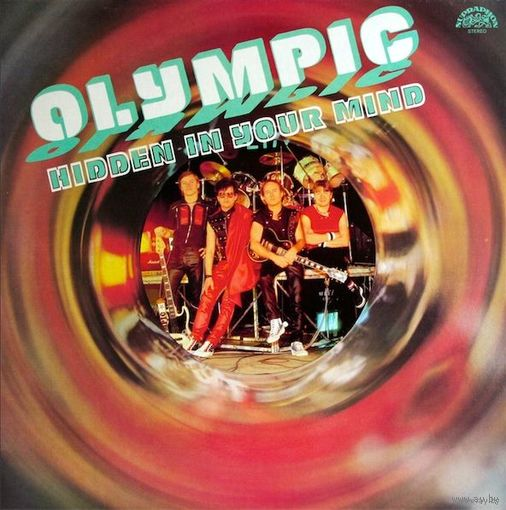 Olympic -  Hidden In Your Mind - LP - 1986