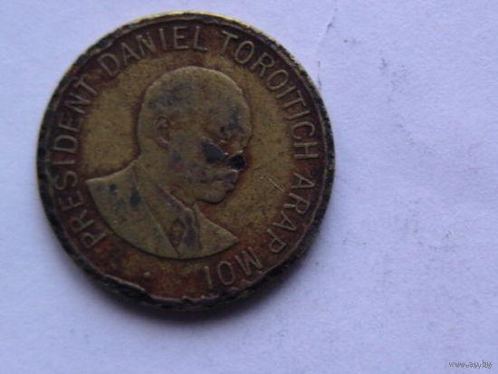 Кения 1 шилинг 1998г.  распродажа