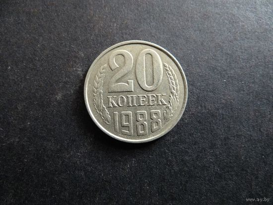 20 копеек 1988 СССР (271)