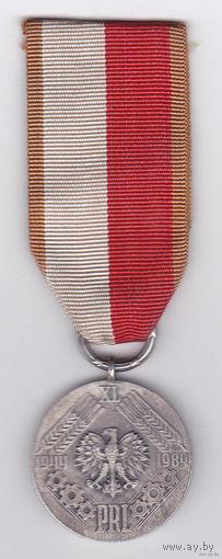 """Медаль """"40 лет Польше"""""""