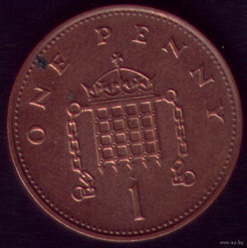 1 пенни 1997 год Великобритания