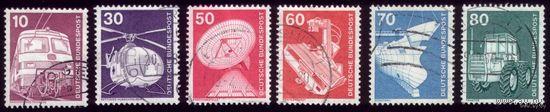 6 марок 1975 год ФРГ