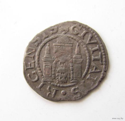 Шиллинг 1571 Вольный город Рига