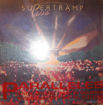 2LP Supertramp - Paris (live)(1980)
