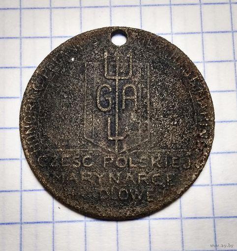 Польская медаль.
