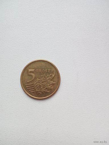 5 грош 2007г. Польша