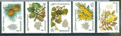 Охраняемые породы деревьев и кустарников. Чист.