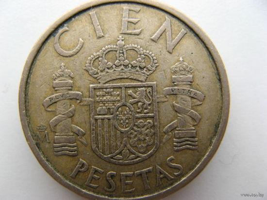 Испания 100 песет 1988 г.