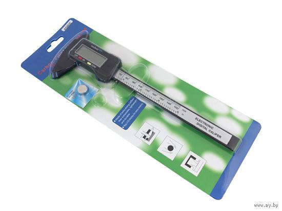 Штангенциркуль микрометр цифровой 150мм, Карбон