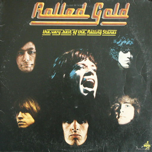 0294. The Rolling Stones. Rolled Gold. 1975. Decca (DE, 2xLP, Compilation) = 25$