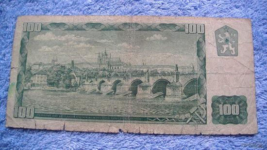 Банкнота Чехословакия 100 Крон 1961г 028592 распродажа