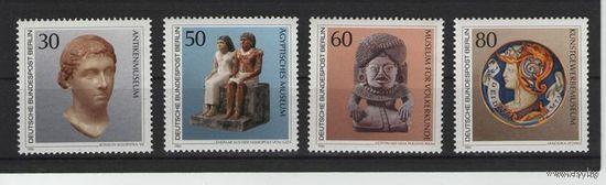 Западный Берлин 1984г. Mi N 708-711** Сокровища мировой культуры в Берлинских музеях