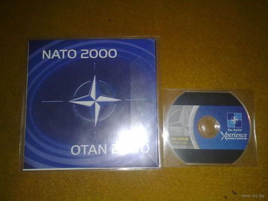 Презентационные мультимедийные диски NATO 2000, NATO Xperience 2002 (2шт. одним лотом!)