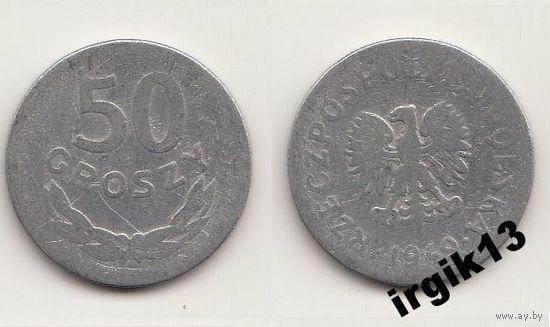 50 грош 1949 года. Польша