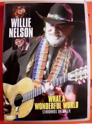 "Original DVD!!! Willie Nelson ""What A Wonderful World"" 2006"