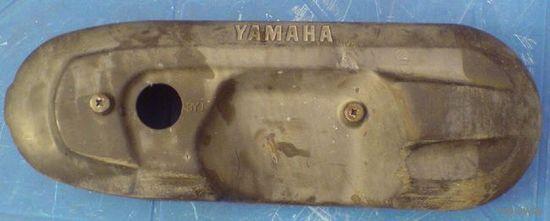 Накладка на крышку мотора 2т Ямаха 3kj