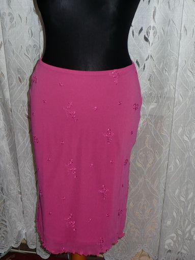 СНИЖАЮ ЦЕНУ!!! Розовая юбка, 44-46