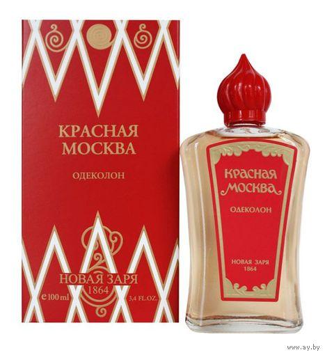 НОВАЯ ЗАРЯ Красная Москва Одеколон (EDC) 100мл