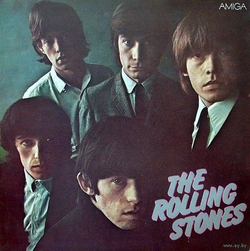 0314. The Rolling Stones. The Rolling Stones. 1982. Amiga (GDR) = 13$