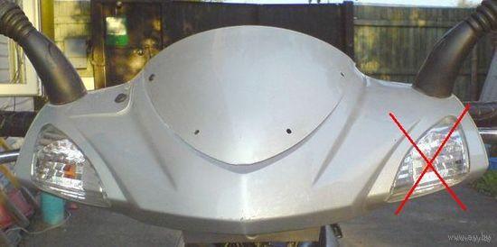 Поворот на скутер Фада12 и другие модели