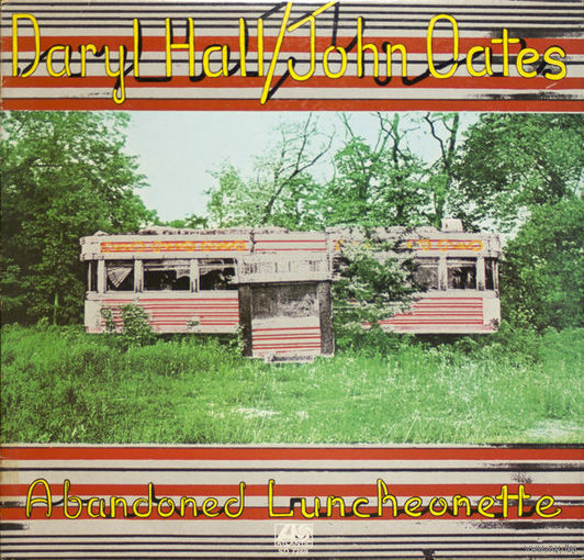Daryl Hall & John Oates - Abandoned Luncheonette - LP - 1973