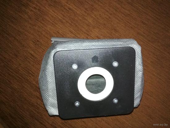 Мешок-пылесборник многоразовый для пылесосов Philips Electrolux LG Haier samsung ,крепление 11x10 см и диаметром 50 мм.