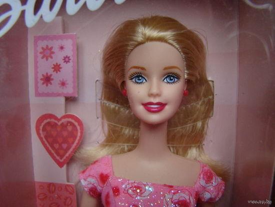 Новая кукла Барби, 2001 VALENTINE WISHES BARBIE