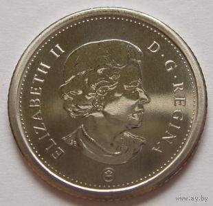 Канада 10 центов 2008 года proof-like  парусник   распродажа