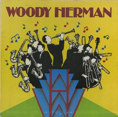 3LP box Woody Herman - Book of the Month Club (1983)