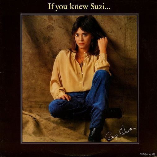 LP Suzi Quatro - If You Knew Suzi... (1979)