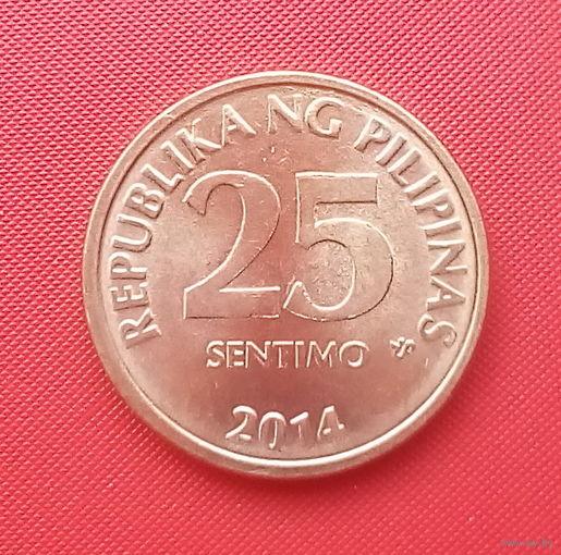 65-35 Филиппины, 25 сентимо 2014 г.