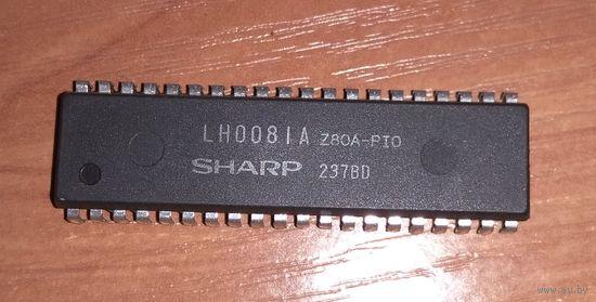 Ретро-микросхема LH0081A-Z80A-PIO (Sharp)